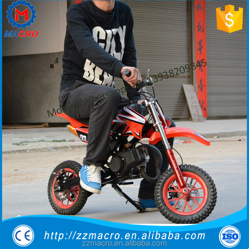 classic gas mini dirt bike 49cc motorcyclefor children