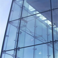 high density one way vision for glass curtain wall