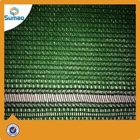 HDPE Outdoor Garden Shade Netting Anti UV Brise Vue , High Tensile