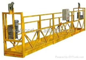 Powered Suspended Platform Cradle Swing Stage Buy Rope Suspended Platform Window Cleaning