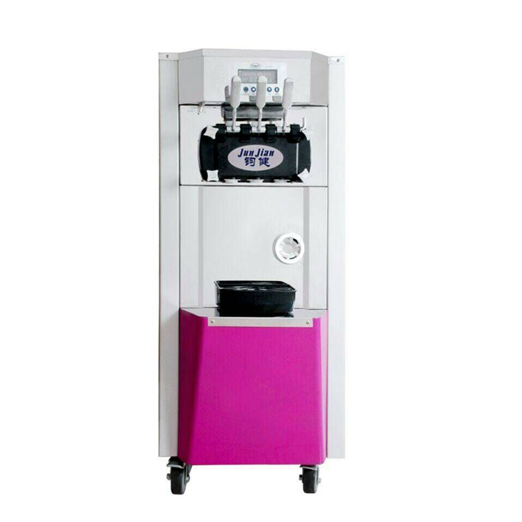 อาหาร grade ice cream ทำสแตนเลส commercial soft ice cream machine