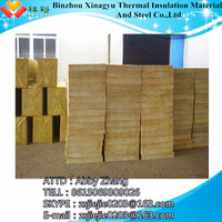 Rock wool heat resistant building material