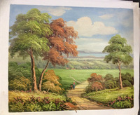 50cm x 60cm oil painting stock for sale home decoration