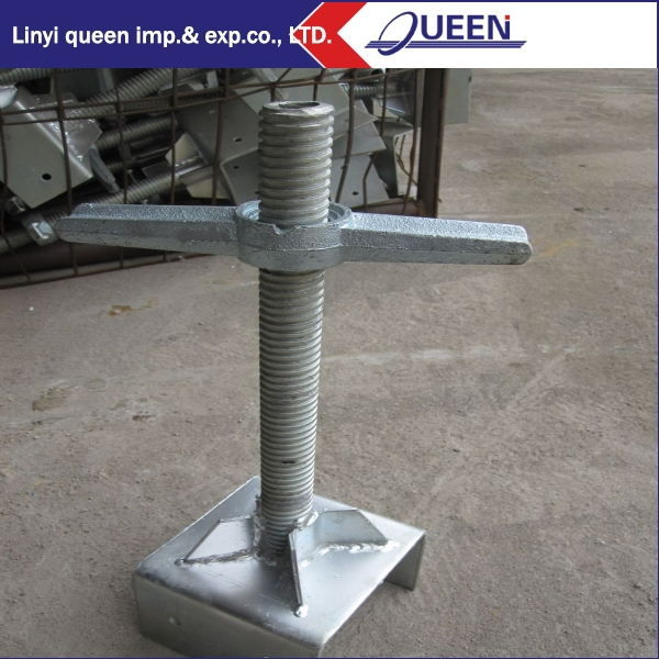 Construction Solid U- Head jack/Scaffolding Level screw Jack
