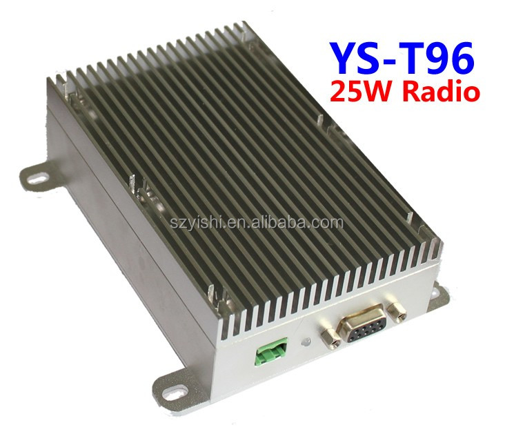 20KM 230Mhz Data and Audio Transceiver Module 25W RS232 RS485 Signal Wireless Stereo Audio Transmitter Receiver Module