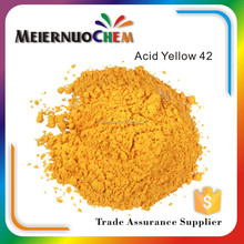 ISO certified manufacturer acid yellow 42 150% dacron dyes / leather and fur dyes