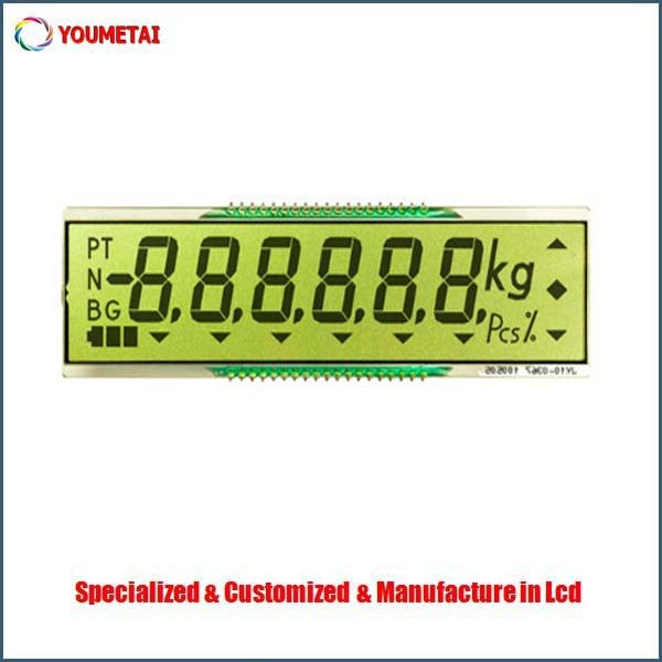 china shenzhen factory supply customized lcd display for scales