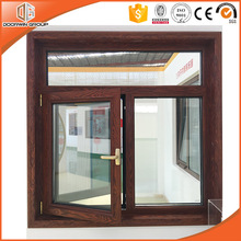 Tilt Turn Aluminum Window Fitted with Anti-theft pry Copper of Hand and Hidden Hinges