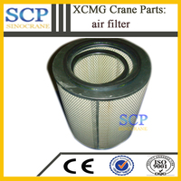 Factory direct selling XCMG crane parts auto air filter manufacturers