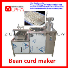 Factory sale commercial soya milk /industrial bean curd making machine/automatic bean curd maker