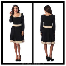 Paris Evening Dresses New Model 2014 Long sleeve Dress