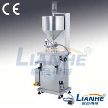 filling machine with mixing and heating system, semi-auto pneumatic filling machine