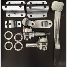 container rear door gear lock,van body door lock assembly