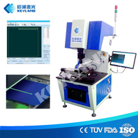 Keyland silicon wafer dicing scribing machine with 10w fiber laser module
