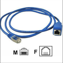 2015 new product high speed RJ45 cable network use male to female made in china