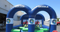 Cheap inflatable football shoot games, inflatable sports for kids and adults