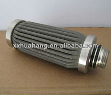 Metal laminate panel oil filter element ,melt filter element