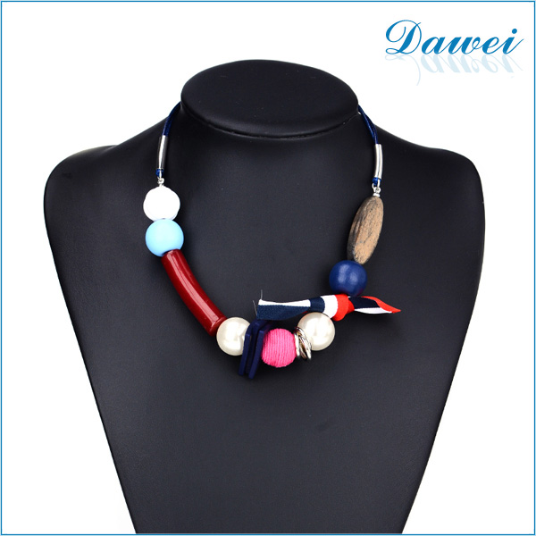 alibaba china supplier wholesale pendant necklace long resin pearl necklace design for women