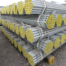 Thin Wall Pipe Round GI Corrugated Galvanized Steel Culvert Pipe