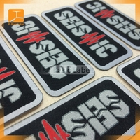 wholesale decorative fabric embroidery designs woven patch for garment