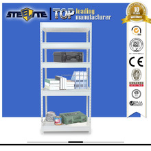 Sale Warehouse Products Manufacturer Factory Price White Steel Corner Ladder Shelf Plans