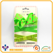 Neon Green Elastic Headband Baby Infant Headband