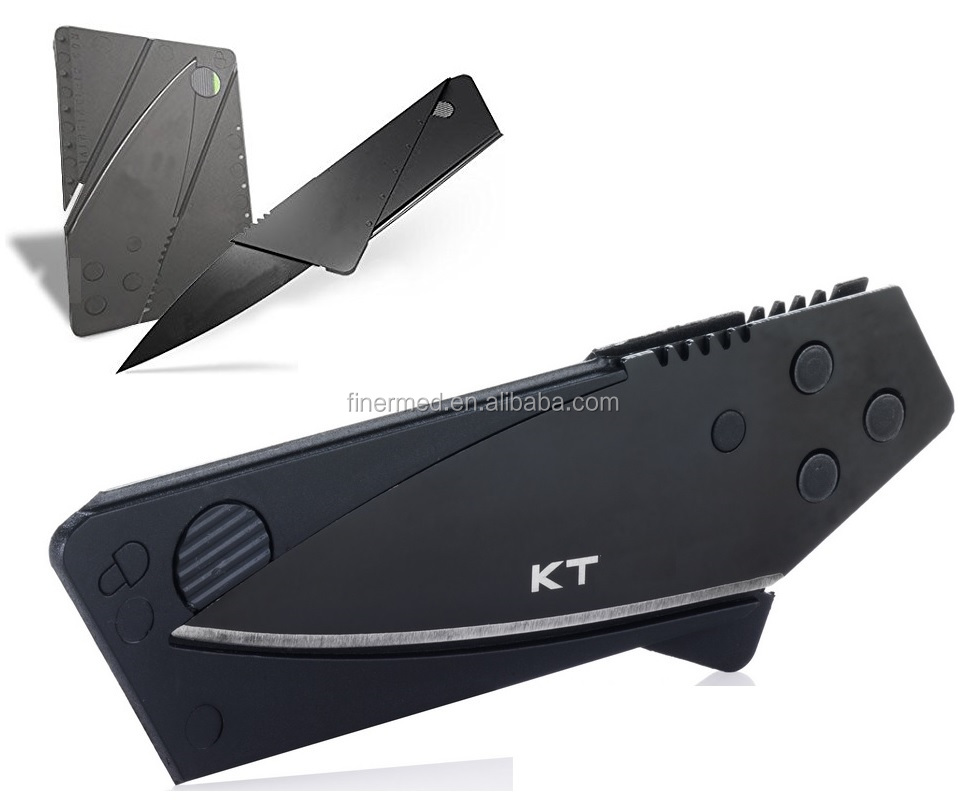 outdoor champing survival cardsharp credit card knife