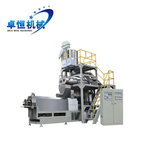 Hot Sail Automatic Floating Fish Food Pellet Making / Fish Feed Line / Pet Feed Making Machine