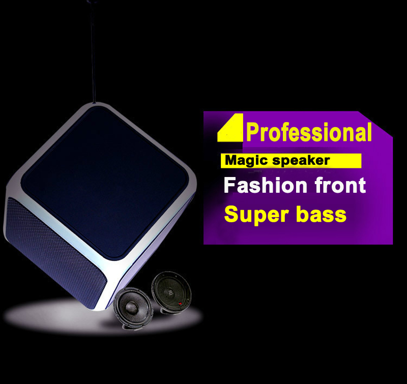 2017 Custom Unique Creative wholesale Hi Fi Powered Subwoofer Active Bluetooth Speaker With Led Light