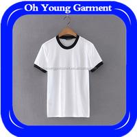 high quality tee shirts put your logo printing custom man t shirt round neck cotton T shirt wholesale uk