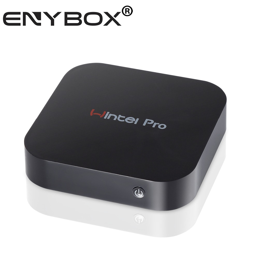 Wintel TV Box CX-W8 Windows 10 Pro Intel Chip Cherry Trail Z8300 Quad-core Wifi Mini PC Wintel Pro W8 Mini PC