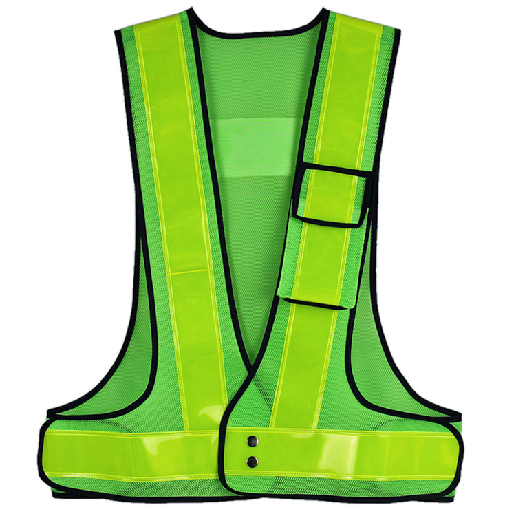 Custom Wholesale Reflective Blue Hi Vis Vest
