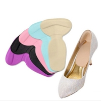 Foot Care Heels Gel pad schools Insoles tools anti-friction heel gel pad slim patch orthopedic shoes for Women