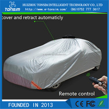 Tonsim Automatic car full body covers manufacturer automatic folding car garage