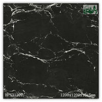 1200x1200x15.5mm Newest Outdoor and Indoor Floor and Wall Polished Large Marble Look Porcelain Tiles