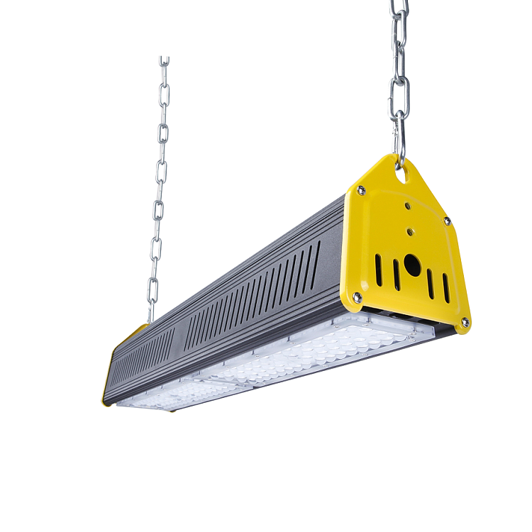 warehouse supplies highbay led housing pendant industrial 100W LED Linear High Bay Light