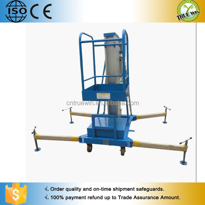 high strength outside or indoor efficiency Aluminum Alloy Lift
