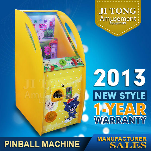 2014 wholesale kids mini video coin slot game machine