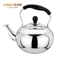 Circle Channel Design Induction Stainless Steel Whistling Tea Kettle