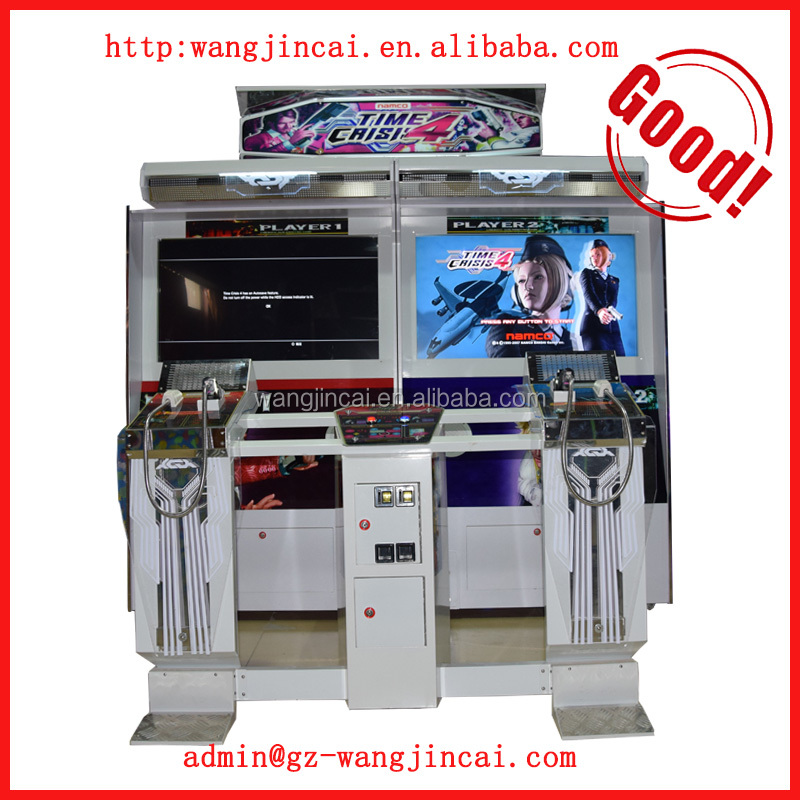 2016 Popular coin operated simulator arcade shooting game machine Time Crisis 4 gun shooting video game machine for sale