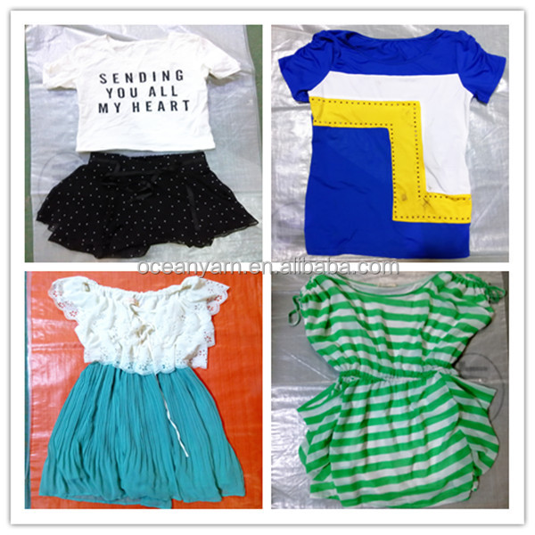 2016 high quality bundle clothing used clothes in bulk cream used clothes in bulk