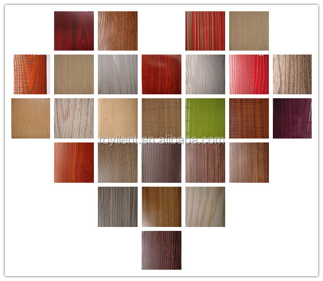 HOT SALE pvc decorative film for furniture kitchen cabinet door