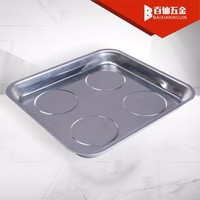 Large Stainless Steel Square Magnetic Tray