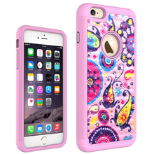 Hot selling,Beautiful PC Crystal Diamond flower Mobile Phone Case Cover for iPhone 6/6S,Welcome to OEM