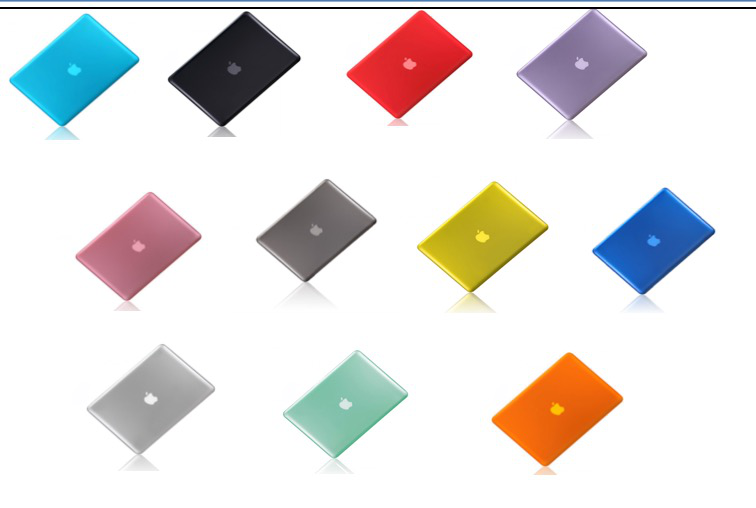 "Crystal Clear PC Hard Protectice Shell Case Cover for Macbook Air 11"" / 13"" Case"