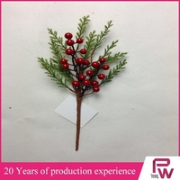 2015 new products christmas artificial berries