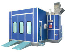 top sale commercial spray booth is car painting equipment with centrifugal fans