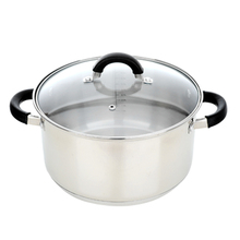 Silver Eco Friendly Non-stick Dutch Oven with Induction Bottom