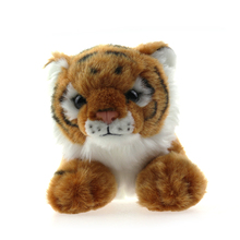 Emoticon Cushion Pillow Cheap Stuffed Animal Tiger Plush Toy