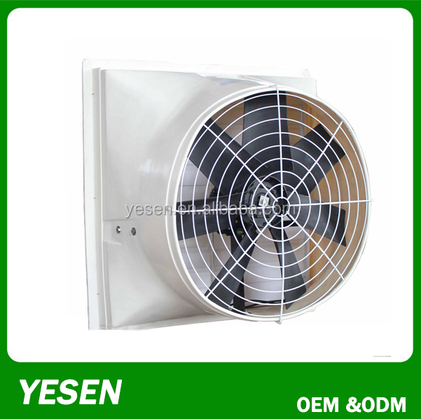 SMC Fiber Glass Negative Pressure Ventilating Exhaust Fan In Poultry House